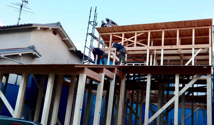 新築 新築工事 上棟式 工務店